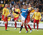 Lee McCulloch in action