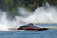 """Tom Thompson, A-52 """"Fat Chance Too"""" and Tom Bergman, A-8  (2.5 MOD class hydroplane(s)"""