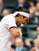 11-02-11Tennis, Rotterdam, ABNAMROWTT, Marcos Baghdatis wins second set