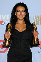 13 July 2020 - Naya Rivera, the actress best known for playing cheerleader Santana Lopez on Glee, has been confirmed dead. Rivera, 33, is believed to have drowned while swimming in the lake with her 4-year-old son, who was found asleep on their rental pontoon boat after it was overdue for return. 16 September 2012 - Pasadena, California - Naya Rivera. 2012 NCLR ALMA Awards - Press Room held at The Pasadena Civic Auditorium. Photo Credit: Byron Purvis/AdMedia