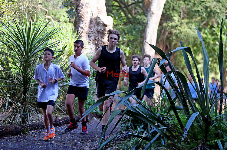 Kings College Cross Country, Kings College, Auckland, New Zealand, Friday 14th August 2015. Photo: Simon Watts/ www.bwmedia.co.nz <br /> All images © BWMedia.co.nz