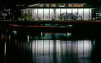 John F. Kennedy Center for the Performing Arts, The Kennedy Center, Washington, D.C., at Night.