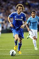 David Luiz (5) Chelsea in action..Manchester City defeated Chelsea 4-3 in an international friendly at Busch Stadium, St Louis, Missouri.