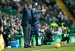 Celtic v St Johnstone…18.02.18…   Celtic Park    SPFL<br />Tommy Wrght appeals<br />Picture by Graeme Hart. <br />Copyright Perthshire Picture Agency<br />Tel: 01738 623350  Mobile: 07990 594431