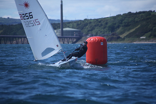 Finlay Tulett, a youth sailor from Dalgety Bay SC in Scotland Photo: Kathryn Anderson