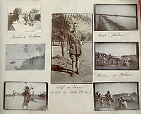 BNPS.co.uk (01202) 558833. <br /> Pic: Fellows/BNPS<br /> <br /> Pictured: A portrait of Captain Walter Cornock in his photo album. <br /> <br /> A stoic letter from a British World War One officer saying he would rather 'die a man's death than feel I had failed' has come to light 104 years on.<br /> <br /> Captain Walter Cornock, of the 12th Battalion, Gloucestershire Regiment, distinguished himself during the Third Battle of Ypres in 1917 and the 1918 German Spring Offensive.<br /> <br /> The correspondence to his father, also named Walter, reveals how he was driven by an enormous sense of duty and was prepared to sacrifice his life for his country.<br /> <br /> The 25 year old, from Gloucester, said this was preferable to taking 'cowardly advantage' of a situation and surviving, adding that people are 'unnecessarily afraid of death'.