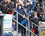 06.05.2019 Falkirk v Rangers reserves: Rangers fans
