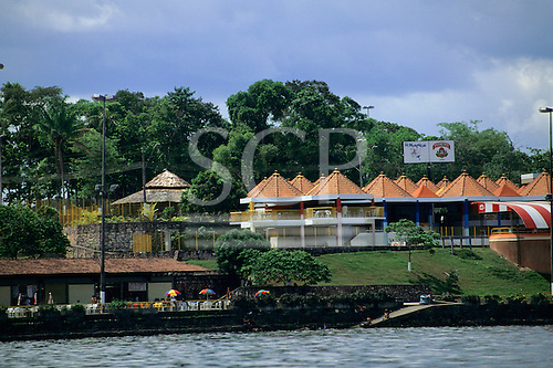 Manaus, Amazonas State, Brazil. River front.