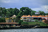 Manaus, Amazonas State, Brazil. River front.