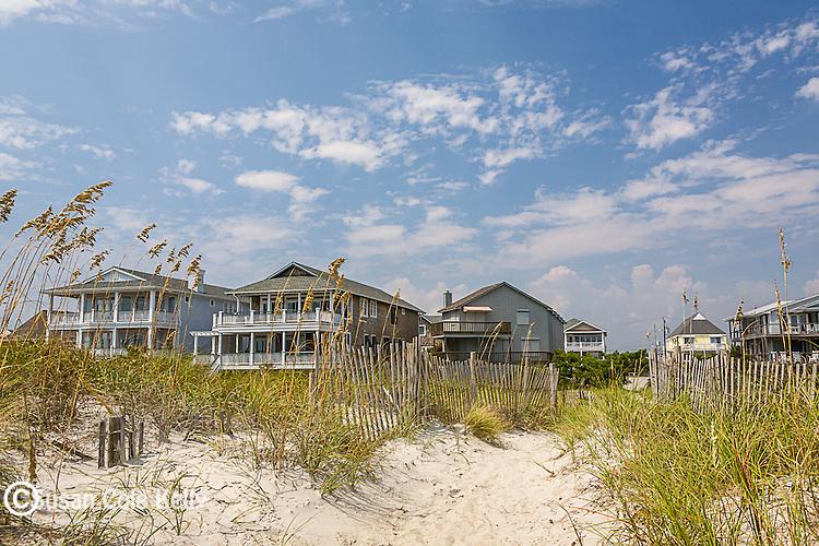 Beach houses, Wrightsville Beach, New Hanover County, NC