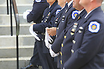 at the funeral for Manasquan volunteer firefighter Dan McCann. McCann died last week after a fire department training exercise.  9/21/16  (Andrew Mills   NJ Advance Media for NJ.com)