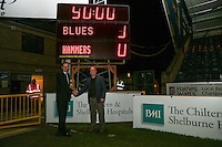 Sponsors after the The Checkatrade Trophy match between Wycombe Wanderers and West Ham United U21 at Adams Park, High Wycombe, England on 4 October 2016. Photo by David Horn.