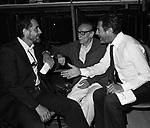 VITTORIO GASSMAN CON EDUARDO DE FILIPPO E MARCELLO MASTROIANNI  - TEATRO TENDA ROMA 1977