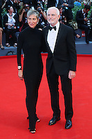 Producer Patrick McCormick, right, attends the red carpet for the movie 'Black Mass' during 72nd Venice Film Festival at the Palazzo Del Cinema in Venice, Italy, September 4, 2015. <br /> UPDATE IMAGES PRESS/Stephen Richie