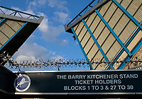 A general view of the Barry Kitchener stand entrance during the Sky Bet Championship match between Millwall and Ipswich Town at The Den, London, England on 15 August 2017. Photo by Carlton Myrie.