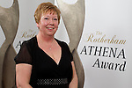 Pix: Shaun Flannery/shaunflanneryphotography.com<br /> <br /> COPYRIGHT PICTURE>>SHAUN FLANNERY>01302-570814>>07778315553>><br /> <br /> 4th April 2014.<br /> The Rotherham Athena Awards 2014.<br /> Jan Smirthwaite