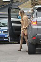 Georgia Kousoulou<br /> arriving for filming for Towie la sala Chigwell<br /> <br /> <br /> ©Richard Open snappers