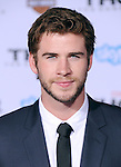 Hollywood, CA - NOVEMBER 04: Liam Hemsworth  arrives to Marvel's  THOR: THE DARK WORLD Premiere held at El Capitan Theatre in Hollywood, California on November 04,2012                                                                               © 2013 Hollywood Press Agency