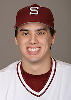 STANFORD, CA - JANUARY 7:  Brian Busick of the Stanford Cardinal baseball team poses for a headshot on January 7, 2009 in Stanford, California.