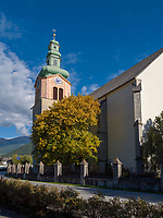 Pfarrkirche in Sterzing, Region Südtirol-Bozen, Italien, Europa<br /> parish church in Sterzing, Region South Tyrol-Bolzano, Italy, Europe