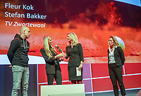 Nieuwegein,  Netherlands, 24 November 2018, KNLTB Year congress KNLTB, Fleur Kok and Stefan Bakker<br /> Photo: Tennisimages.com/Henk Koster