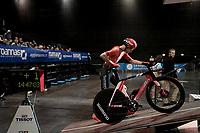 Tom Dumoulin (NED/Sunweb) on the Time Trial start podium<br /> <br /> Stage 4 (ITT): Roanne to Roanne (26.1km)<br /> 71st Critérium du Dauphiné 2019 (2.UWT)<br /> <br /> ©kramon