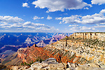 South Rim, Grand Canyon National Park, Arizona, USA along Rim Trail east of visitor center.