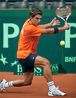 15-9-09, Netherlands,  Maastricht, Tennis, Daviscup Netherlands-France, Training, J esse Huta Galung