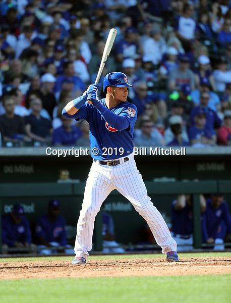 Willson Contreras - Chicago Cubs 2019 spring training (Bill Mitchell)