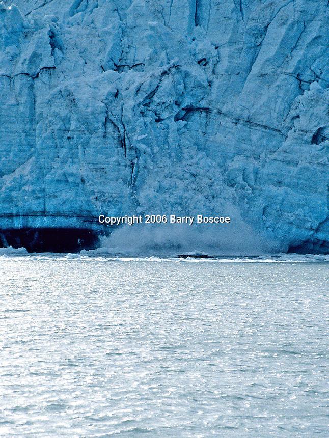 Calving glacier in Alaska