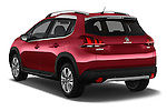 Car pictures of rear three quarter view of 2016 Peugeot 2008 Allure 5 Door SUV Angular Rear