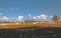 Ballparks: San Antonio Municipal Stadium. Panorama of Field.