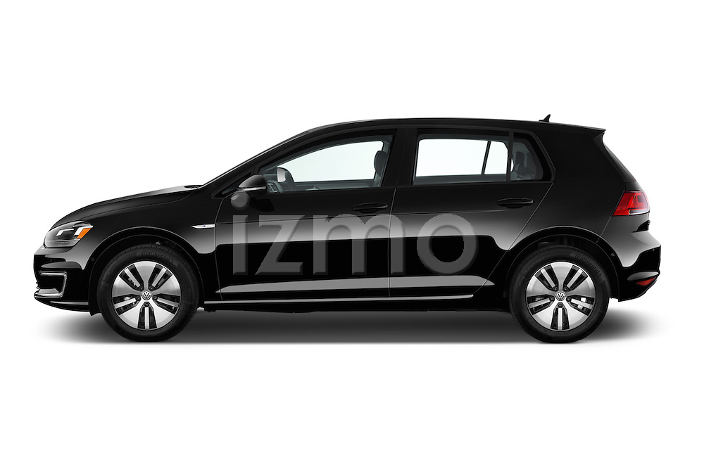 Car driver side profile view of a 2015 Volkswagen Beetle 1.8T Conv. auto 2 Door Convertible