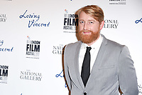 "director, Hugh Welchman<br /> arriving for the London Film Festival 2017 screening of ""Loving Vincent"" at the National Gallery, Trafalgar Square, London<br /> <br /> <br /> ©Ash Knotek  D3328  09/10/2017"