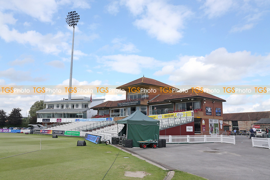 General view of the ground ahead of Somerset vs Essex Eagles, Vitality Blast T20 Cricket at The Cooper Associates County Ground on 9th June 2021