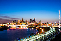 Minneapolis & St. Paul skyline Night Photographer