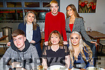 Mary Lynch from Killeen Heights celebrating her birthday in La Scala on Friday.<br /> Seated l to r: John and Mary Lynch and Amber Hennessy.<br /> Back l to r: Aoife Murphy, Mark and Megan Lynch.