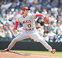 MLB: Los Angeles Angels starting pitcher Shohei Ohtani