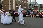 ITALIAN COMMUNITY St PETERS CHURCH CENTRAL LONDON PROCESSION