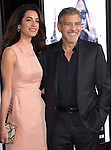 George Clooney, Amal Alamuddin Clooney<br />  attends The Warner Bros. Pictures' L.A. Premiere of Our Brand is Crisis held at The TCL Chinese Theatre  in Hollywood, California on October 26,2015                                                                               © 2015 Hollywood Press Agency