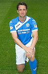 St Johnstone FC photocall Season 2016-17<br />Brad McKay<br />Picture by Graeme Hart.<br />Copyright Perthshire Picture Agency<br />Tel: 01738 623350  Mobile: 07990 594431