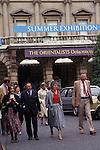 """Royal Academy Summer Exhibition """"Burlington House"""" British amateur professional art show London England 1980s 1984"""