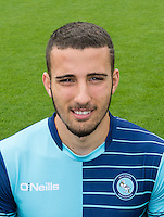 Nick Freeman of Wycombe Wanderers during the Wycombe Wanderers 2016/17 Team & Individual Squad Photos at Adams Park, High Wycombe, England on 1 August 2016. Photo by Jeremy Nako.