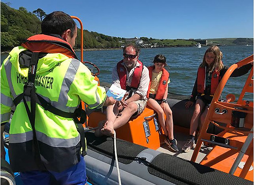A Cork County Council issued photograph posed to illustrate how the council is dealing with the matter of pleasure craft and water safety along the Cork Coast