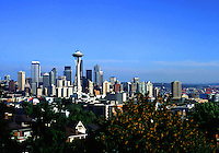 The Seattle skyline. Seattle, Washington.