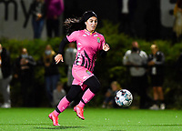 midfielder Yasaman Farmani of Sporting Charleroi pictured during a female soccer game between Sporting Charleroi and FC Femina White Star Woluwe on the second matchday of the 2020 - 2021 season of Belgian Scooore Women s SuperLeague , friday 4 th of September 2020  in Marcinelle , Belgium . PHOTO SPORTPIX.BE | SPP | DAVID CATRY