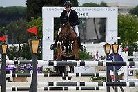 10th September 2021; Circo Massimo Stadium Rome, Italy; Longines Global Equestrian Champions Tour: Jordy van Massenhove
