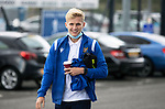 St Johnstone v Motherwell…08.08.21  McDiarmid Park<br />Ali McCann pictured arriving at McDiarmid Park ahead of today's game against Motherwell.<br />Picture by Graeme Hart.<br />Copyright Perthshire Picture Agency<br />Tel: 01738 623350  Mobile: 07990 594431