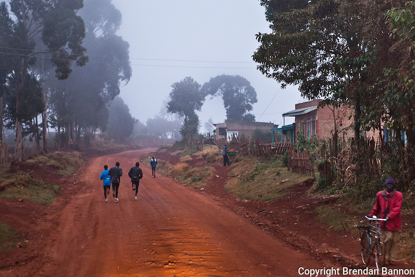 Athletes pound the dirt tracks around Iten, the Kenyan town perched 8,000ft above sea level on the edge of the Rift Valley escarpment that has become the Mecca of high-altitude endurance training for the world's best long-distance runners. Few of these amateurs have access to professional facilities, yet the town hosts many of the fastest men and women over marathon, half-marathon and 10,000m distances.