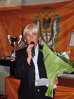 26-08-12, Netherlands, Amstelveen, Tennis, NVK, Thea Rietvelt-Esser
